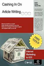 Cashing in on Article Writing