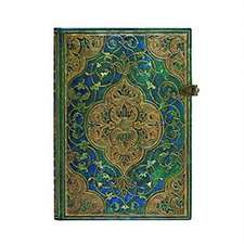 Paperblanks Turquoise Chronicles MIDI Lined: Hardcover