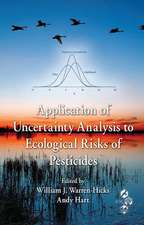 Application of Uncertainty Analysis to Ecological Risks of Pesticides