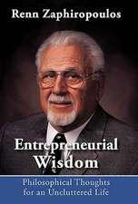 Entrepreneurial Wisdom