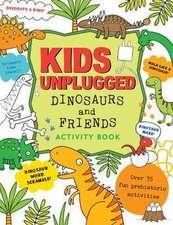 Kids Unplugged Dinosaurs & Friends Activity Book