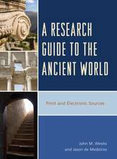 A Research Guide to the Ancient World