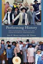 PERFORMING HISTORY HOW TO RESECB