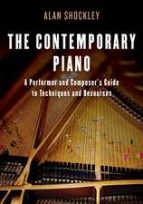 CONTEMPORARY PIANO TECHNIQUES