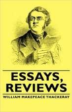 Essays, Reviews