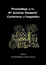 Proceedings of the 4th Austrian Students' Conference of Linguistics