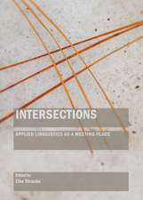 Intersections:  Applied Linguistics as a Meeting Place