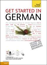 Teach Yourself Get Started in German: Pack + CD