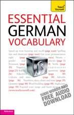 Teach Yourself. Essential German Vocabulary