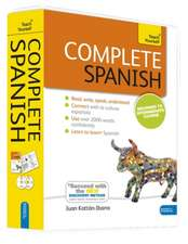 Complete Spanish, Beginner to Intermediate Course [With Paperback Book]:  Sbas