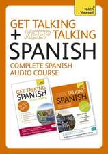 Get Talking and Keep Talking Spanish Total Audio Course