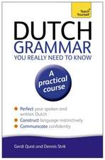 Dutch Grammar You Really Need to Know:  All That Matters
