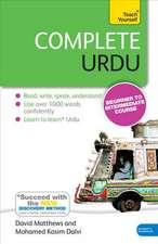 Complete Urdu Book. CD Pack: Teach Yourself