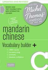 Mandarin Chinese Vocabulary Builder+ [With CDROM and Booklet]:  With the Michel Thomas Method