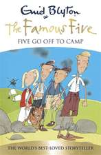 Five Go off to Camp