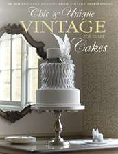 Chic & Unique Vintage Cakes