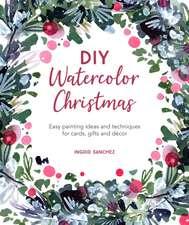 DIY Watercolor Christmas