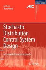 Stochastic Distribution Control System Design: A Convex Optimization Approach