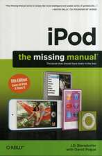 iPod: The Missing Manual 11e