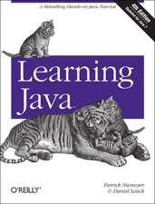 Learning Java 4ed