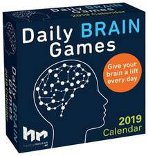 Daily Brain Games 2019 Day-To-Day Calendar
