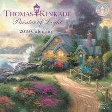 Thomas Kinkade Painter of Light 2019 Mini Wall Calendar