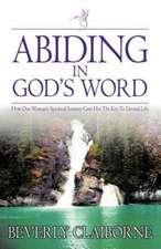 Abiding in God's Word