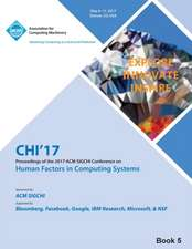 CHI 17 CHI Conference on Human Factors in Computing Systems Vol 5