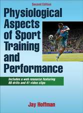Hoffman, J: Physiological Aspects of Sport Training and Perf