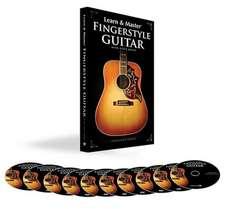 Learn Master Fngrstyl Gtr Bk/Cd/Dvds