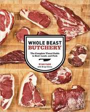 Whole Beast Butchery