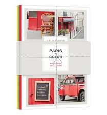 Paris in Color Notebook Collection