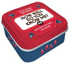 After Dinner Amusements: How Well Do You Know Me?: 50 Questions for Family and Friends (Dinner Party Gifts, Games for Adults, Games for Dinner Parties