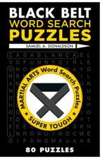 Black Belt Word Search Puzzles