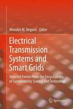 Electrical Transmission Systems and Smart Grids: Selected Entries from the Encyclopedia of Sustainability Science and Technology