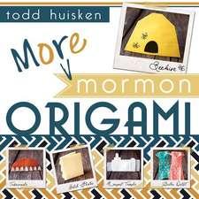 More Mormon Origami