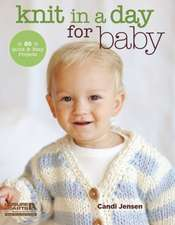 Knit in a Day for Baby:  20 Quick & Easy Projects