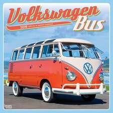 Volkswagen Bus 2019 Square Wall Calendar