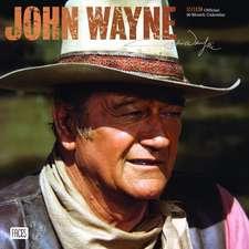 John Wayne 2019 Square Wall Calendar