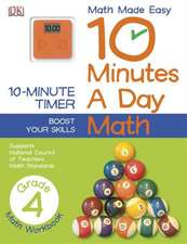 10 Minutes a Day:  Math, Fourth Grade