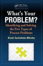 What's Your Problem?:  Identifying and Solving the Five Types of Process Problems