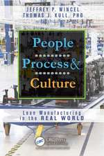 People, Process, and Culture:  Lean Manufacturing in the Real World