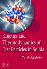 Kinetics and Thermodynamics of Fast Particles in Solids