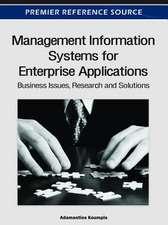 Management Information Systems for Enterprise Applications
