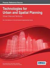 Technologies for Urban and Spatial Planning