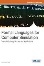 Formal Languages for Computer Simulation