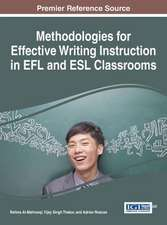 Methodologies for Effective Writing Instruction in Efl and ESL Classrooms:  Interdisciplinary Perspectives on Human Behavior