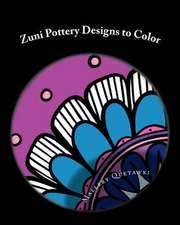 Zuni Pottery Designs to Color