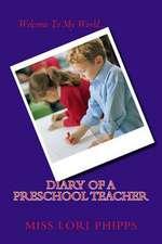 Diary of a Preschool Teacher