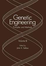 Genetic Engineering: Principles and Methods Volume 9